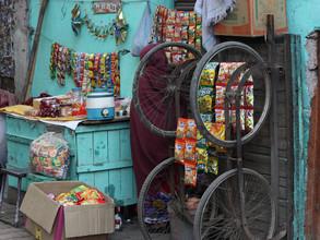 Jagdev Singh, A Street Shop, New Delhi (Indien, Asien)