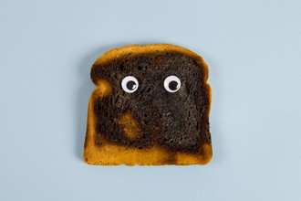 Loulou von Glup, Burned bread (Belgium, Europe)