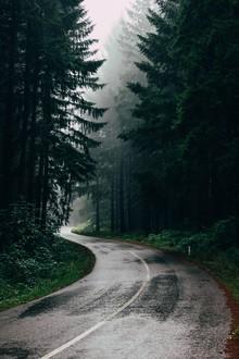 Christian Hartmann, Rainy Road (Serbia, Europe)