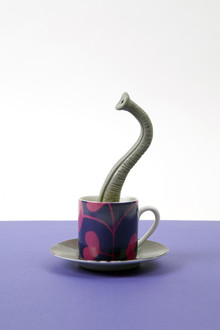 Coffeelephant - Fineart photography by Loulou von Glup