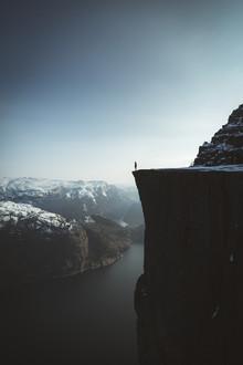 Johannes Hulsch, An der Kante zum Nichts (Norwegen, Europa)