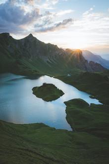 Johannes Hulsch, Schrecksee zum Sonnenuntergang (Deutschland, Europa)