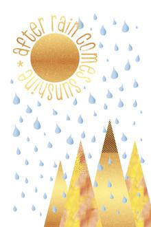 Melanie Viola, NAIVE GRAFIKKUNST After rain comes sunshine (Deutschland, Europa)