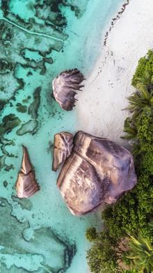 Jean Claude Castor, Seychellen Vogelperspektive (Seychellen, Afrika)