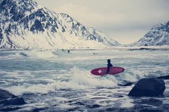 Wintersurfen - fotokunst von Franz Sussbauer