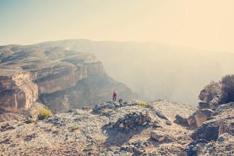 Franz Sussbauer, Felsenwüste und Canyon (Oman, Asien)
