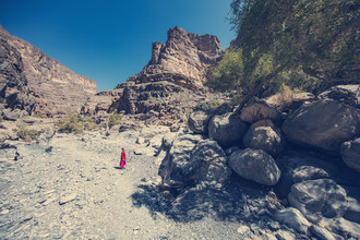 Franz Sussbauer, dry valley in Oman (Oman, Asia)