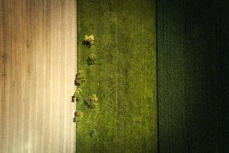 Jean Claude Castor, Felder aus der Luft (Deutschland, Europa)