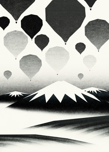 Sjoerd Piepenbrink, Morning wind balloons (Netherlands, Europe)