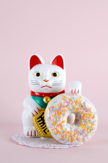 Maneki Donut - Fineart photography by Loulou von Glup
