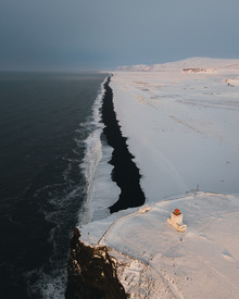 André Alexander, Sonnenaufgang am Strand von Vik (Island, Europa)