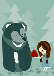 Bärenfreundschaft - fotokunst von Sabrina Ziegenhorn