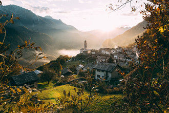 Sebastian 'zeppaio' Scheichl, Romantic swiss mountain village (Switzerland, Europe)