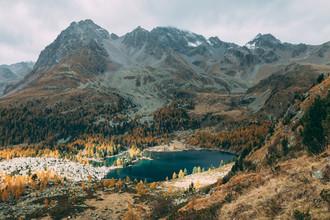 Sebastian 'zeppaio' Scheichl, Swiss mountain lake (Switzerland, Europe)
