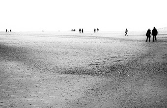 Stefan Wensing, Am Strand (Deutschland, Europa)