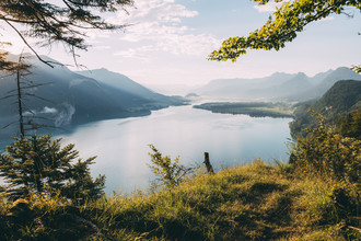 Sebastian 'zeppaio' Scheichl, View on lake Wolfgangsee (Austria, Europe)