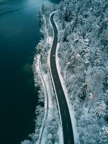 Sebastian 'zeppaio' Scheichl, The street along the lake (Germany, Europe)
