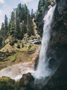Sebastian 'zeppaio' Scheichl, High waterfall (Austria, Europe)