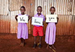 Victoria Knobloch, We love you! (Uganda, Africa)
