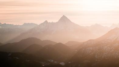 Martin Wasilewski, Alpen im Winterlicht (Österreich, Europa)