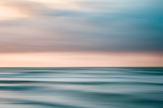 Sunset at Baltic Sea - fotokunst von Holger Nimtz