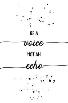 Melanie Viola, Be a voice not an echo (Deutschland, Europa)