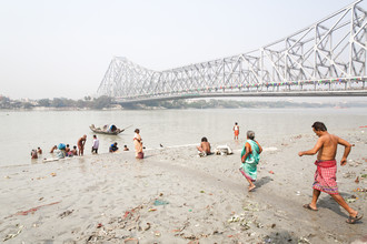 Miro May, Howrah Bridge (Indien, Asien)