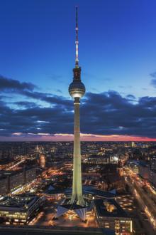Jean Claude Castor, Berlin Skyline Alexanderplatz (Deutschland, Europa)