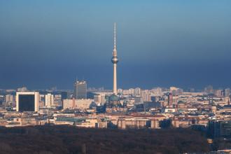 Jean Claude Castor, Berliner Skyline (Deutschland, Europa)