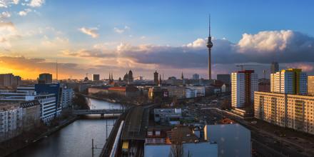 Berlin - Perspektiven einer Stadt - fotokunst von Jean Claude Castor