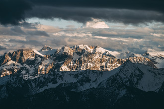 Sebastian 'zeppaio' Scheichl, Evening mood in the mountains (Italy, Europe)