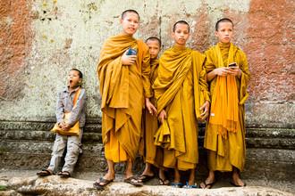 Steffen Rothammel, Mönche auf Reisen (Kambodscha, Asien)
