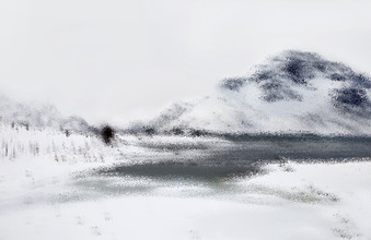 Victoria Knobloch, Winterlandscape (Norway, Europe)