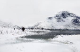 Victoria Knobloch, Winterlandschaft (Norwegen, Europa)