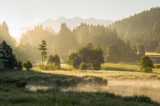 Martin Wasilewski, Sommermorgen im Karwendel (Deutschland, Europa)