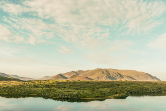 Pascal Deckarm, Lake by the mountains (Iceland, Europe)