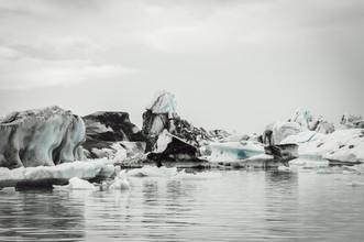Die Gletscherlagune - fotokunst von Pascal Deckarm