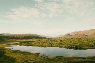 Pascal Deckarm, Berge am See II (Island, Europa)