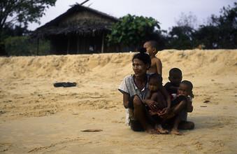 Martin Seeliger, Mutterliebe (Myanmar, Asien)