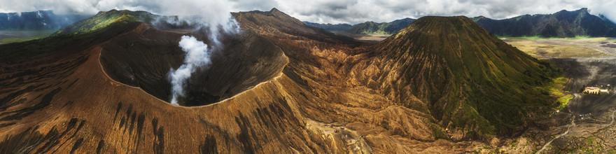 Jean Claude Castor, Indonesien Vulkan Panorama (Indonesien, Asien)