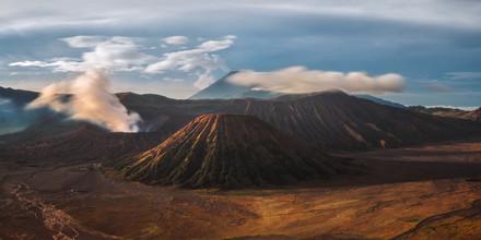 Jean Claude Castor, Mount Bromo Panorama (Indonesia, Asia)