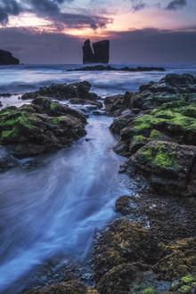 Jean Claude Castor, Felsformationen auf den Azoren (Portugal, Europa)