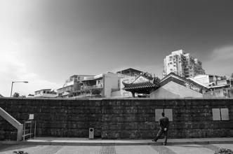 Aleksi Lausti, man & wall (China, Asien)