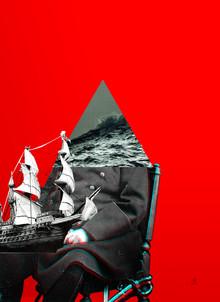Der alte Man und das Meer 2 - fotokunst von Marko Köppe