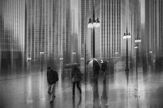 Roswitha Schleicher-Schwarz, Regen in Chicago (Vereinigte Staaten, Nordamerika)