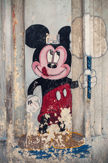 Franz Sussbauer, Streetart with Mickey Mouse (Cuba, Latin America and Caribbean)