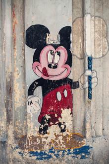 Franz Sussbauer, Strassenkunst mit Micky Maus (Kuba, Lateinamerika und die Karibik)