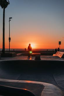 Maximilian Manavi-huber, Venice Beach - A skateboarder's sunset (United States, North America)