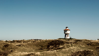 Manuela Deigert, The water tower of Langeoog (Germany, Europe)