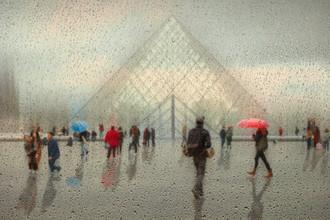 Roswitha Schleicher-Schwarz, Paris im Regen (Frankreich, Europa)
